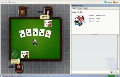 Reglas de Póquer